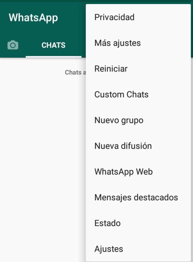 Cómo saber la versión WhatsApp que tengo