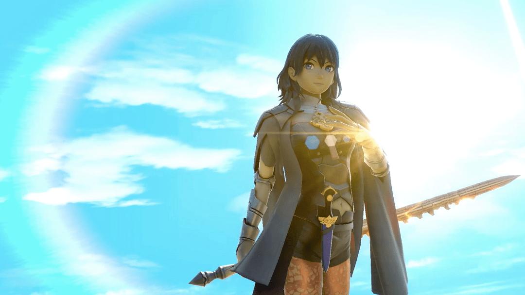 Byleth-Fire Emblem-Super Smash Bros Ultimate