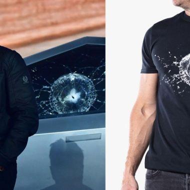 Elon Musk Playera Conmemorativa Cybertruck