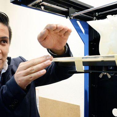 Impresora 3D huesos biodegradables