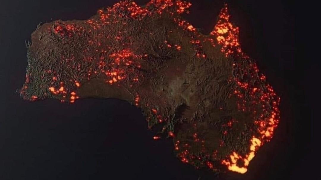 Incendios Australia Mapa
