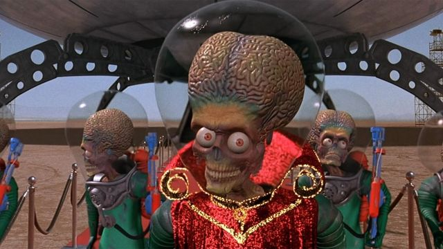 Mars Attacks Comercial Super Bowl