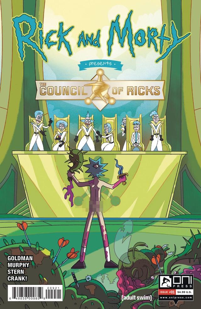 Rick Morty Comic