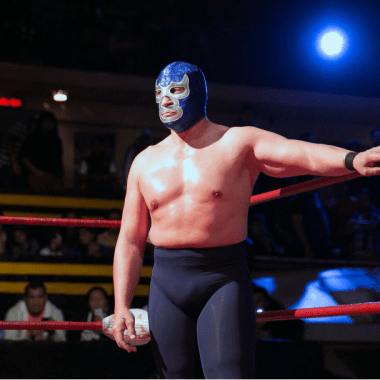 Disney serie Blue Demon Jr.