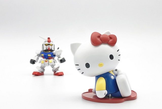 Coleccionable Hello Kitty Gundam