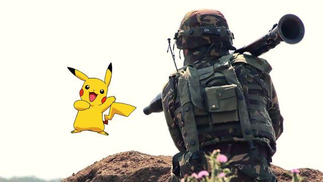 Militares juegan Pokémon Go