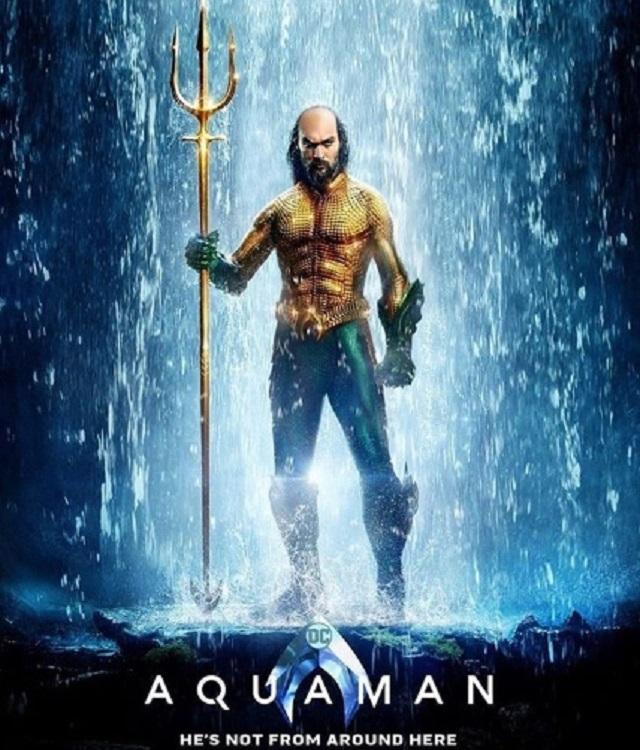 Aquaman Jason Momoa Fanart