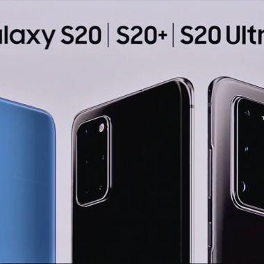 Galaxy S20 S20+ S20 Ultra