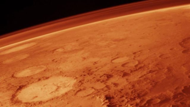NASA Misterioso Resplandor Superficie Marte