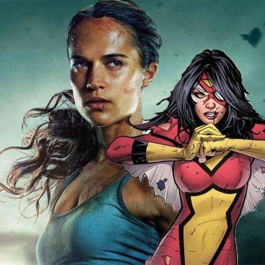 Alicia Vikander y la mujer araña