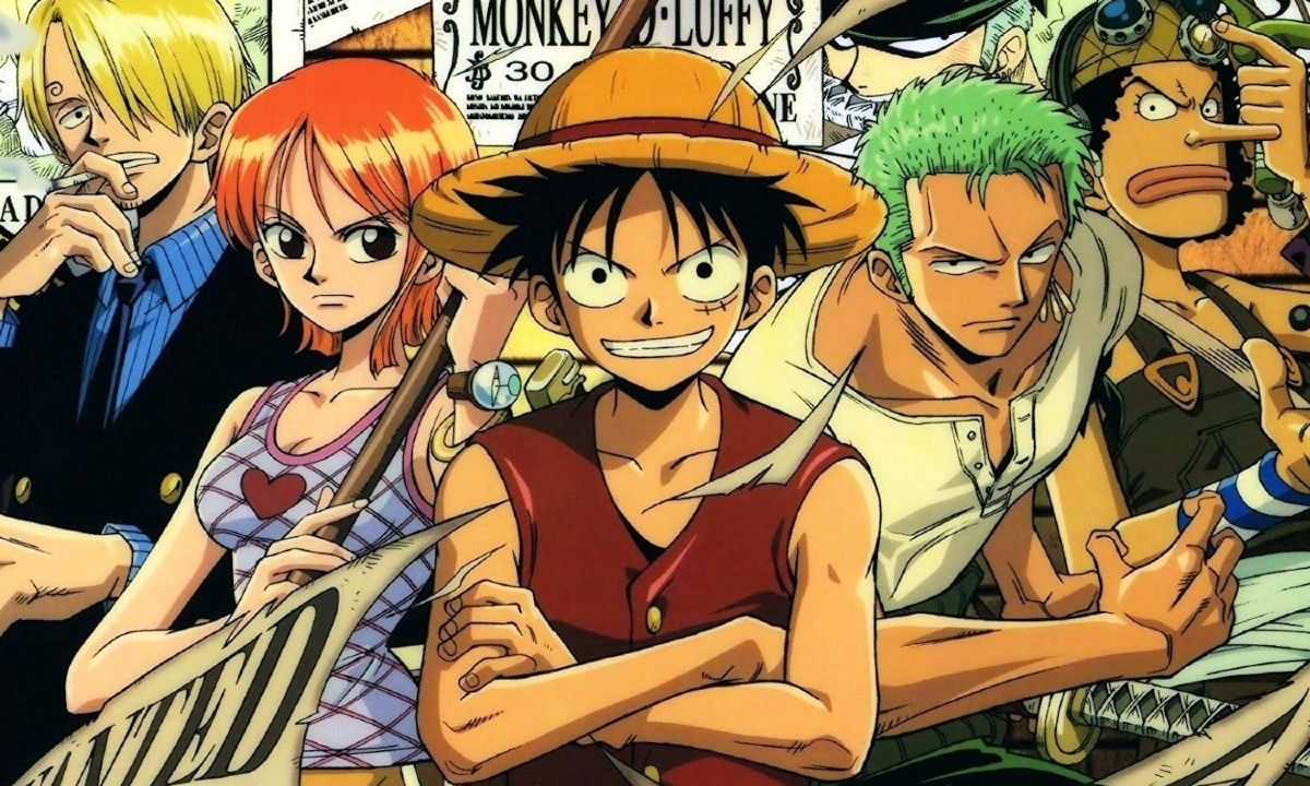 One Piece Manga Anime