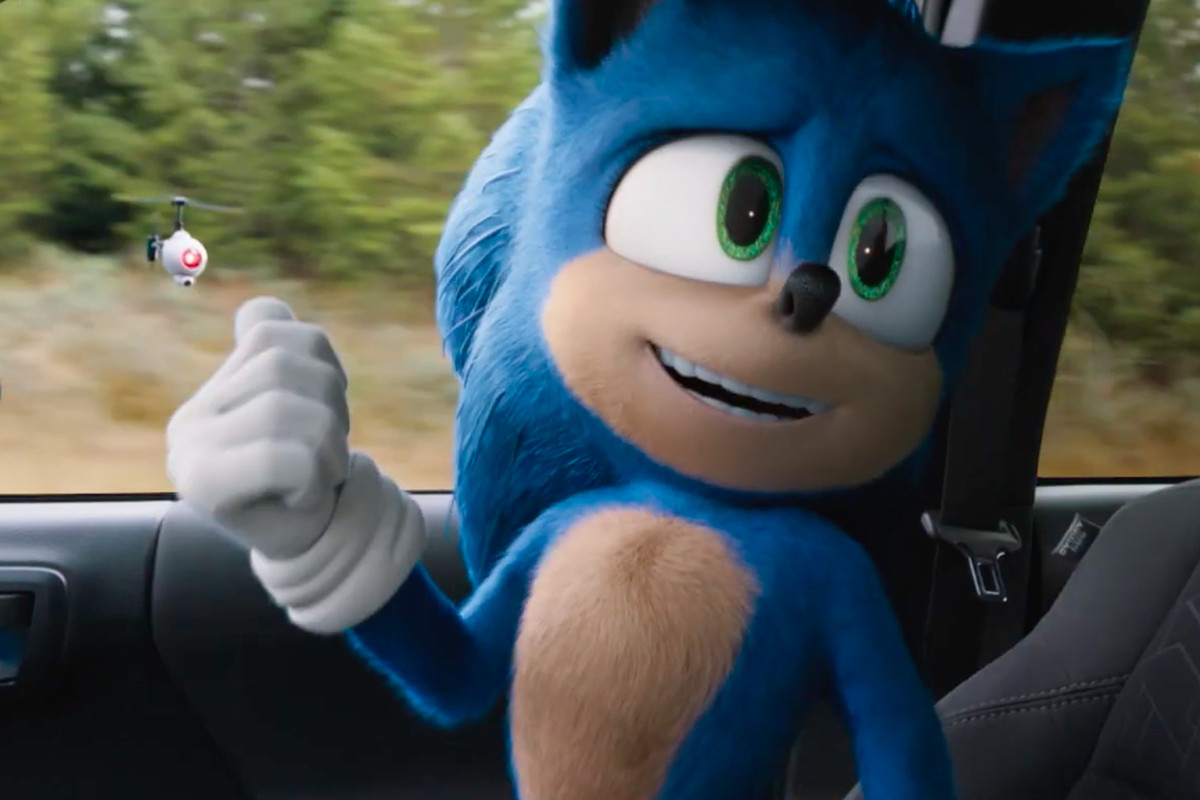 The Rock Sonic the Hedgehog 2