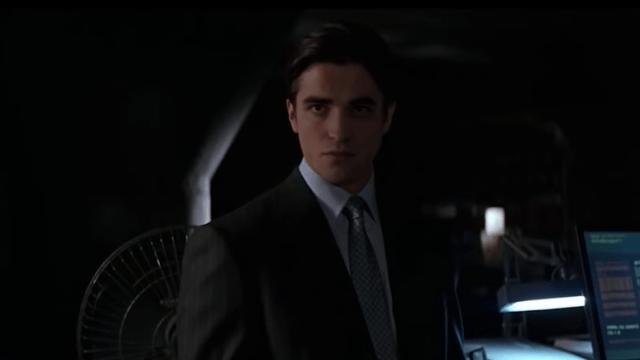 Pattinson como Bruce Wayne
