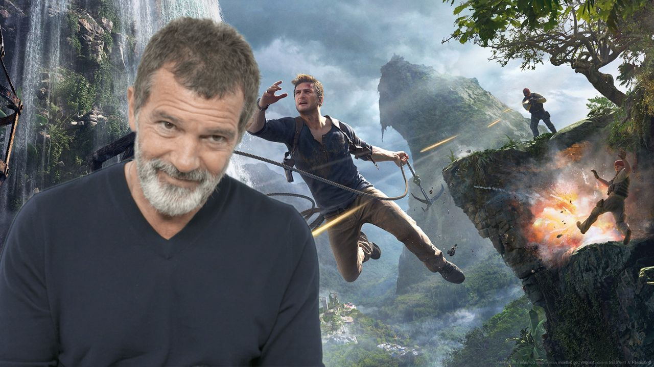 Antonio Banderas Uncharted Movie