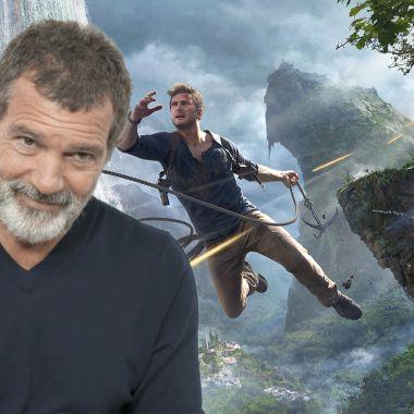 Antonio Banderas Uncharted Movie