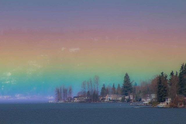 Arco Iris Horizontal Estados Unidos