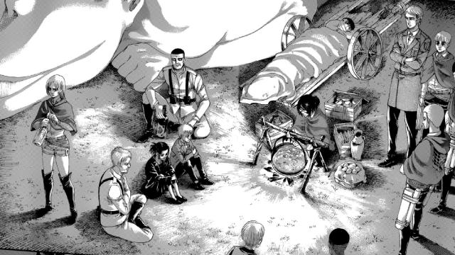 Attack On Titan, Shingeki No Kyojin, Capitulo 127, Manga