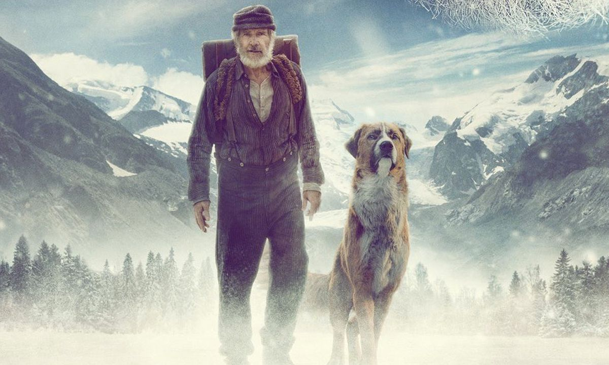 Call of the Wild Reseña-Buck-Harrison Ford