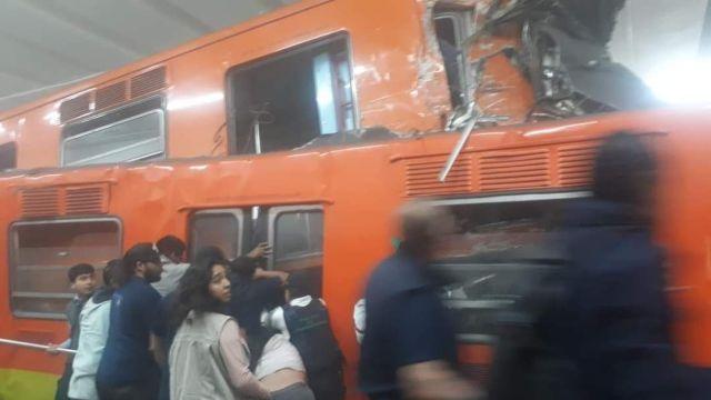 ¿Por qué chocaron los trenes del Metro en la Estación Tacubaya?