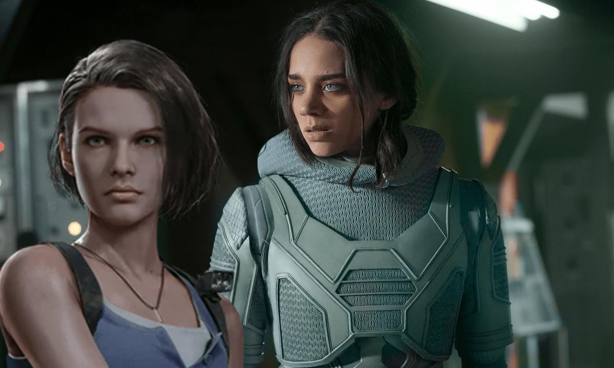 Hannah-John Kamen Resident Evil Reboot