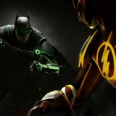 Injustice 2 Batman Flash