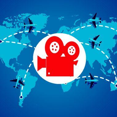 The Lost World Primera Película Vuelo Comercial