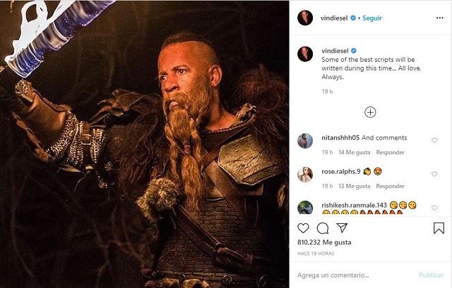 Vin Diesel The Last Witch Hunter