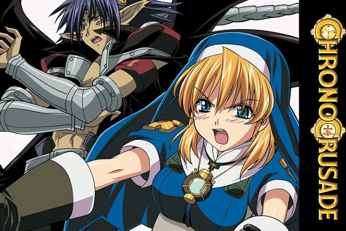 Chrono Crusade, Virgen Fatima, 13 Mayo, Anime