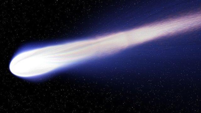 Cometa SWAN Tierra