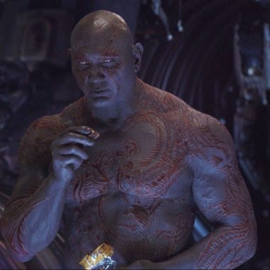 Drax Infinity War Invisible