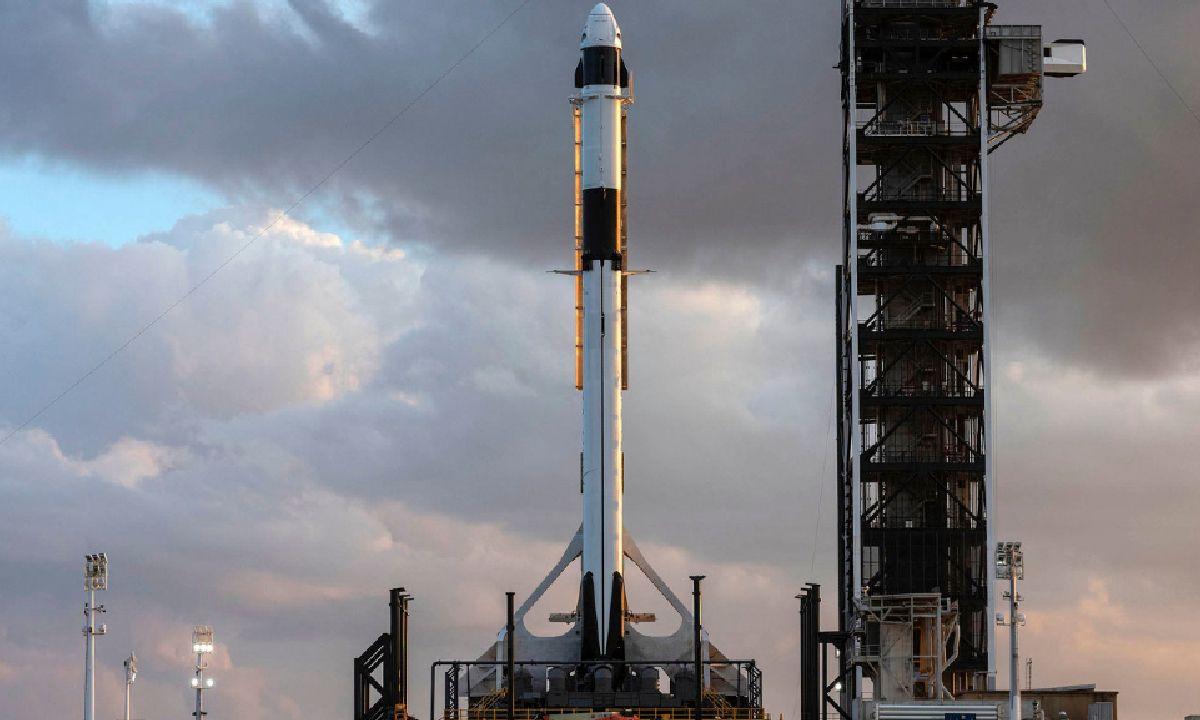 Falcon 9 Crew Dragon 2 SpaceX