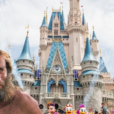 Hombre Cuarentena Disney World