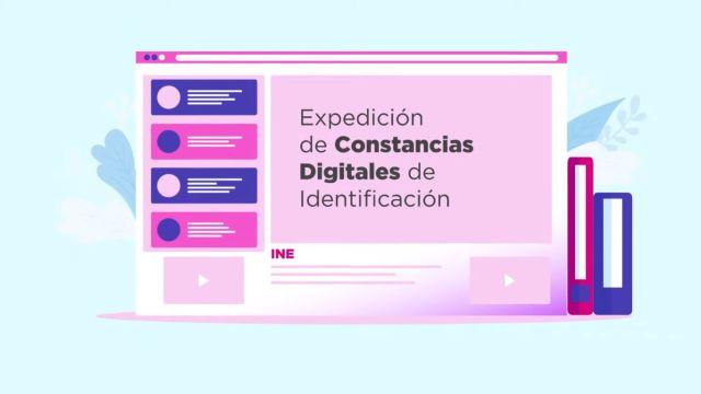INE dará constancias digitales