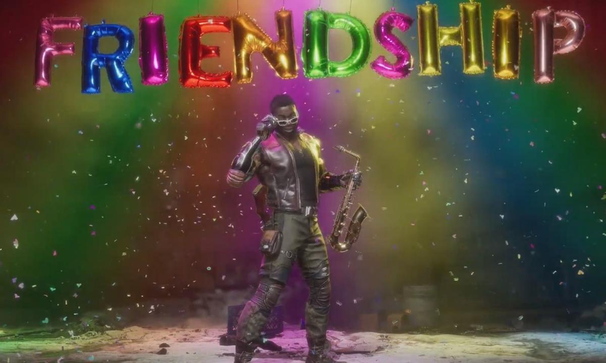 Mortal Kombat 11 Friendship