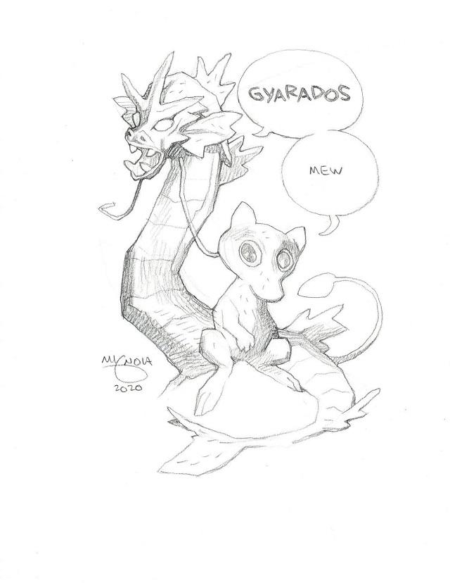 Pokémon Mike Mignola