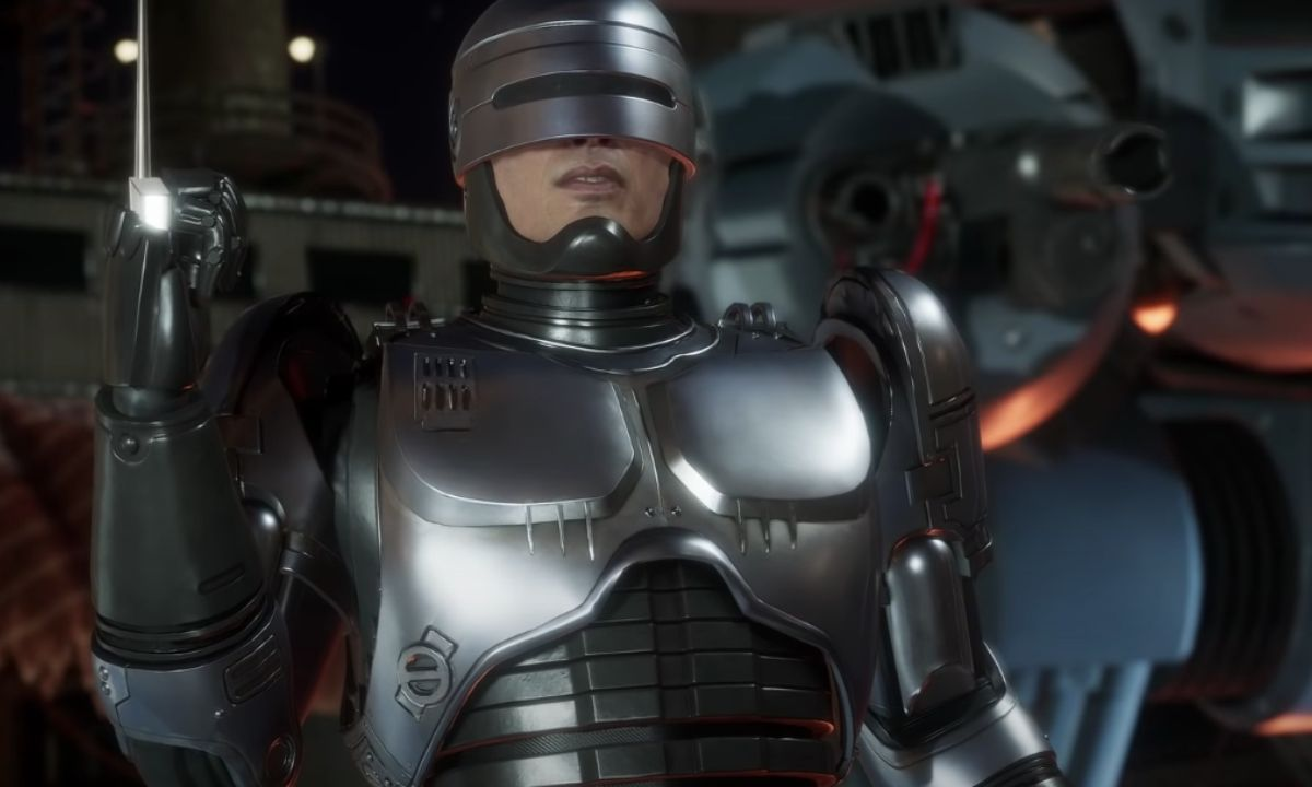 Robocop Gameplay Mortal Kombat 11_ Aftermath