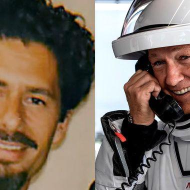 El mexicano José Fernandez y un astronauta