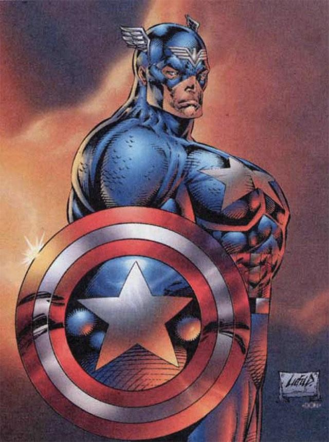 Capitán América version Rob Liefeld