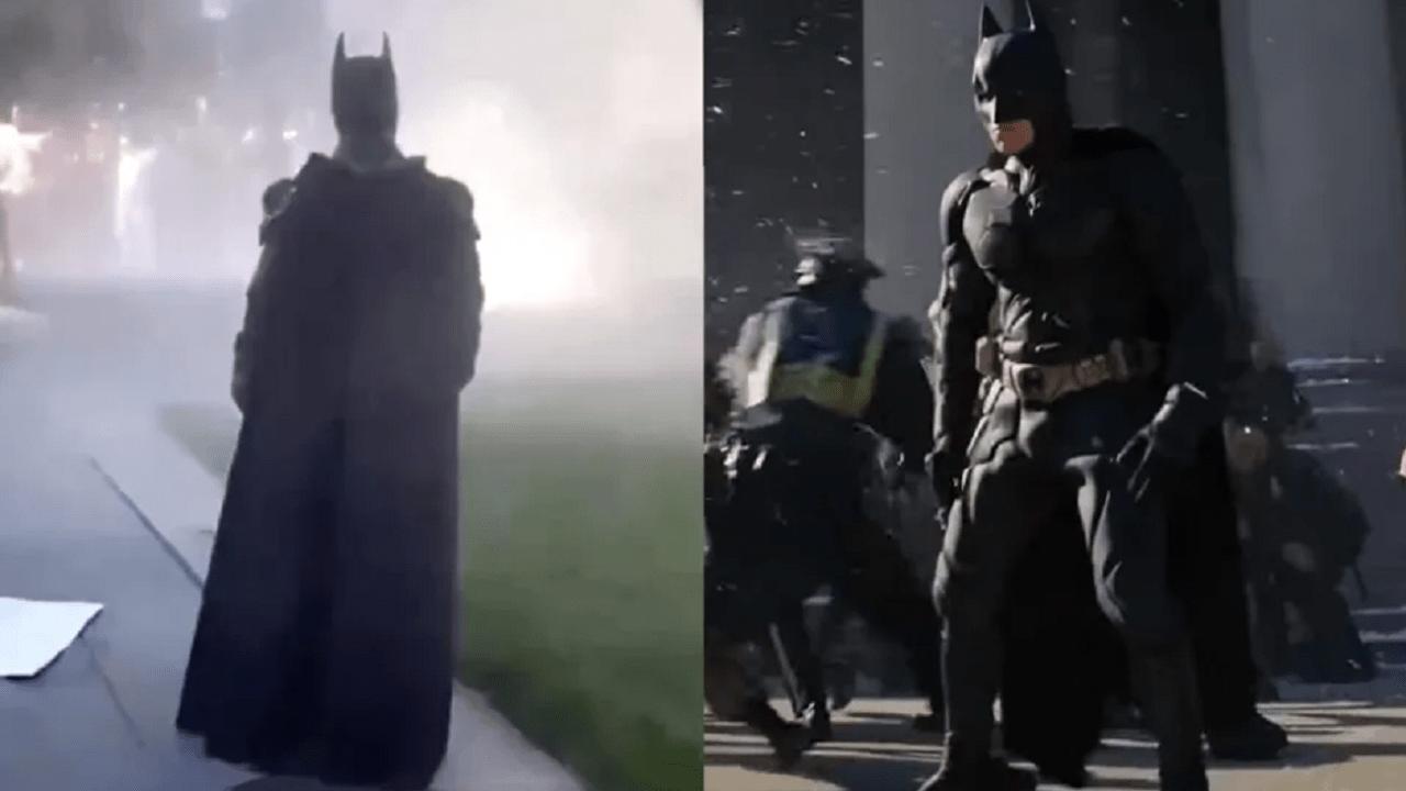 Batman Cosplay Protestas Minneapolis