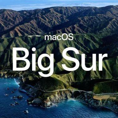 Big Sur macOS 10.16