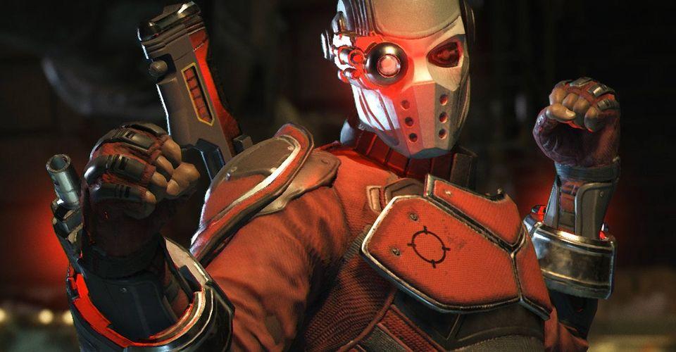Deadshot en el juego Injustice 2