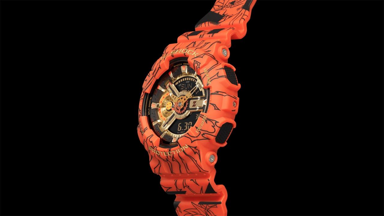 Casio reloj conmemorativo Dragon Ball Z G-Shock