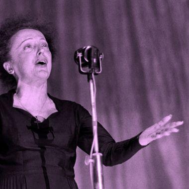 Edith Piaf, cantane de la vida en rosa