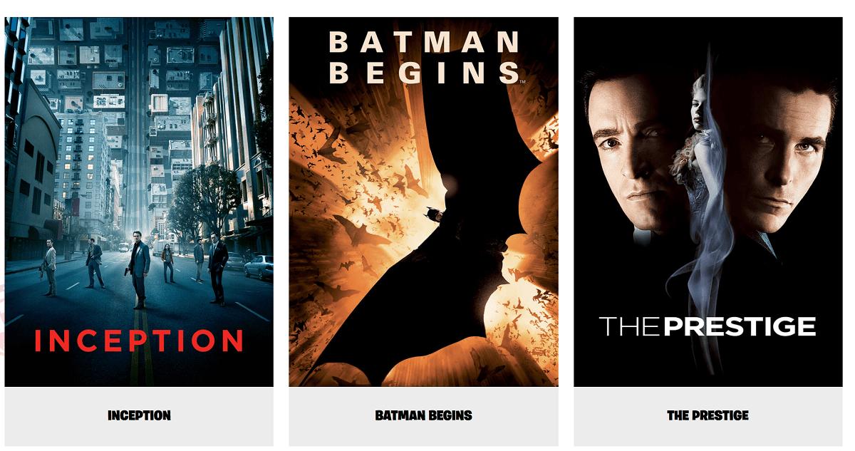 Fornite Películas Chirstopher Nolan