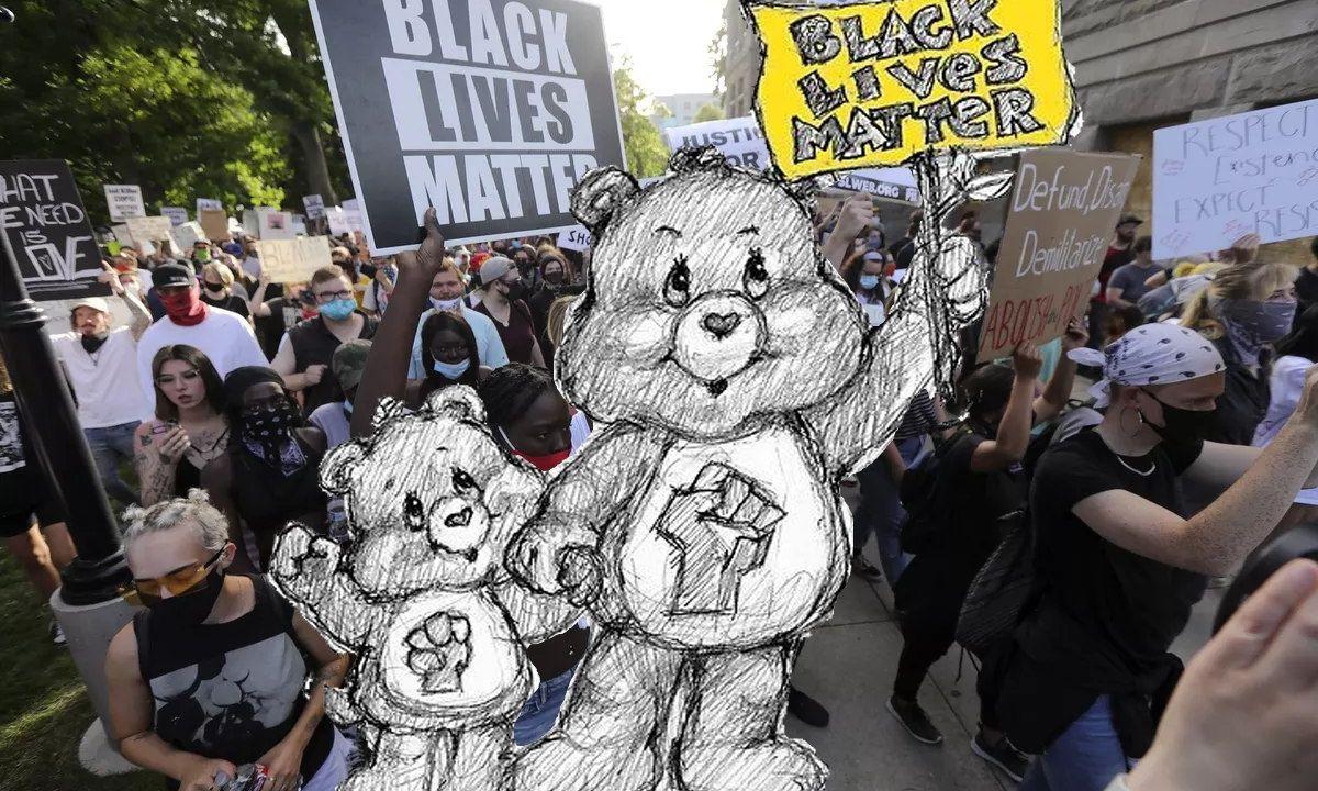 Black Lives Matter Bear