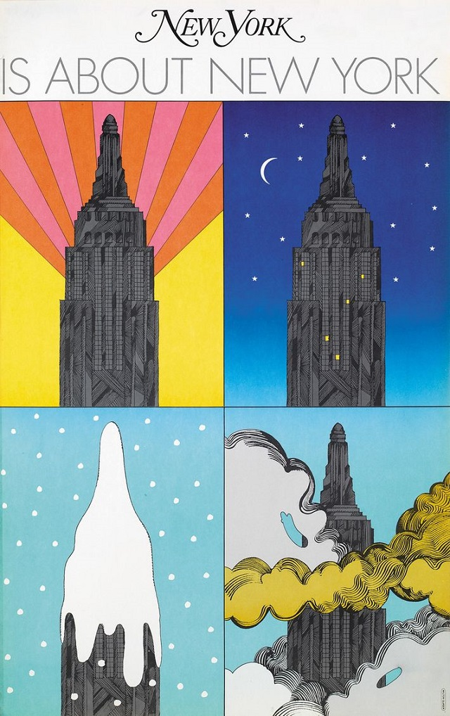 Milton Glaser Portadas New York