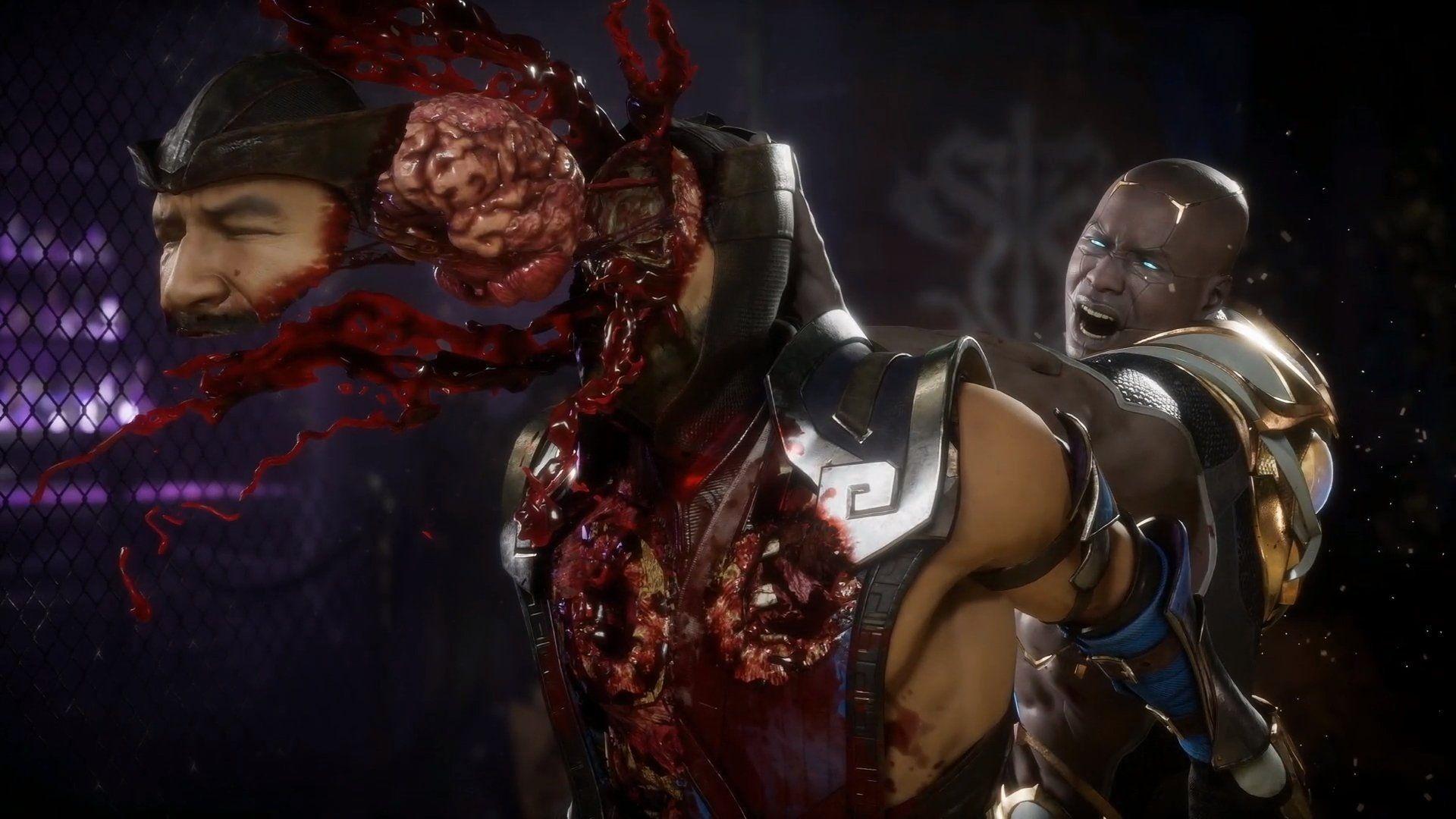 Un Fatality de Mortal Kombat
