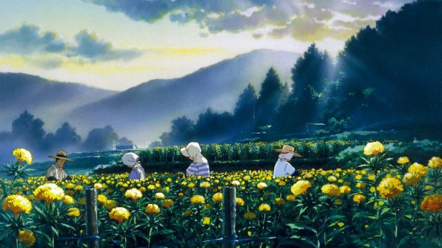 Fotograma de Only Yesterday de Isao Takahata para Studio Ghibli