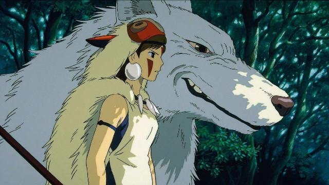 Princesa Mononoke Studio Ghibli