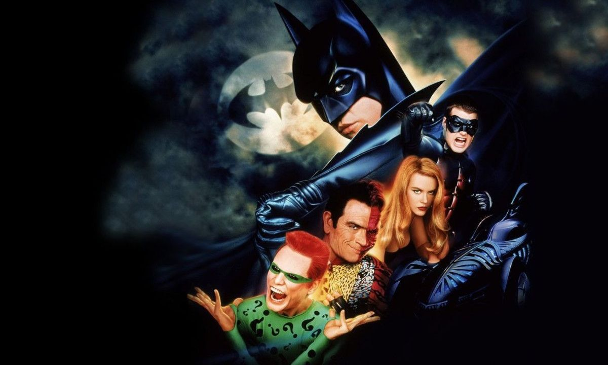 Batman Forever Joel Schumacher Versión Extendida